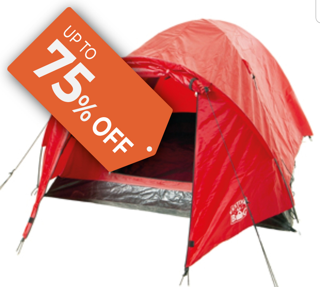 Clearance Tents category
